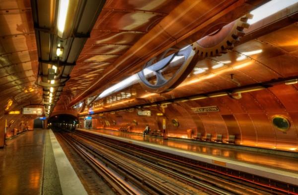 metrostation- france