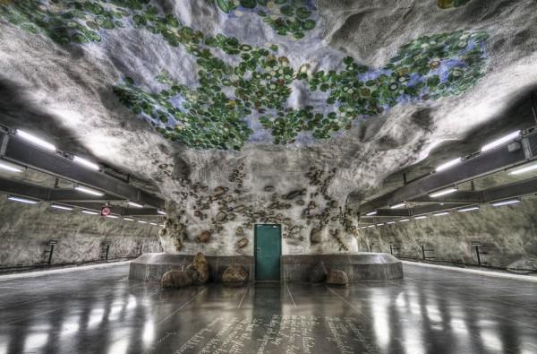 metrostation- stockholm