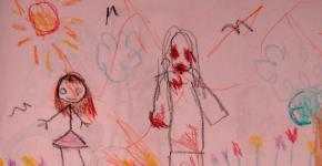Kid Writes Bone-Chilling Horror Story Of Imaginery Friend