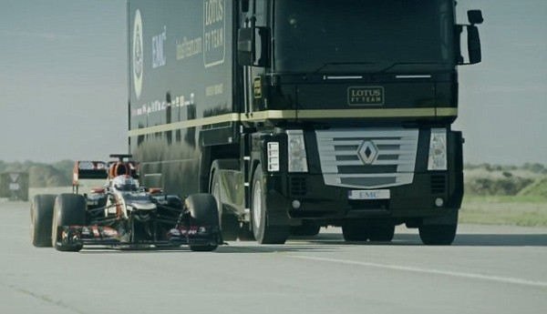 truck and f1 car 3