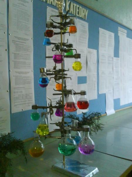 chemistry christmas tree