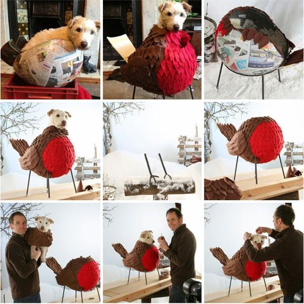 dog dressed as animal 3