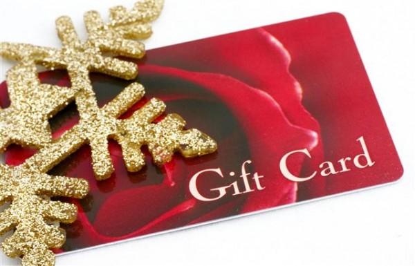 gift card for christmas