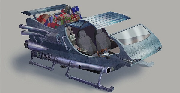 high-tech sleigh 1
