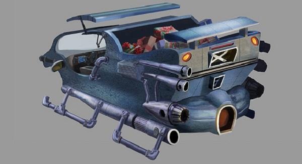 high-tech sleigh 5