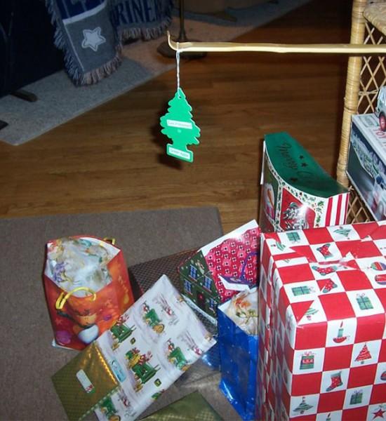 im broke or lazy christmas tree