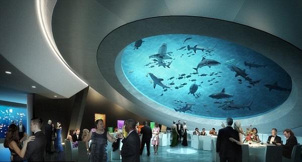 martini glass aquarium 1