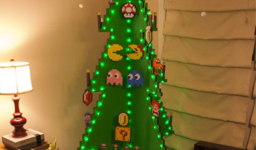 pac man christmas tree