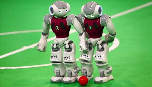 Iran triumphs in football's RoboCup