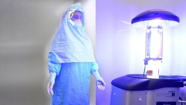 Xenex-Ebola-Robot