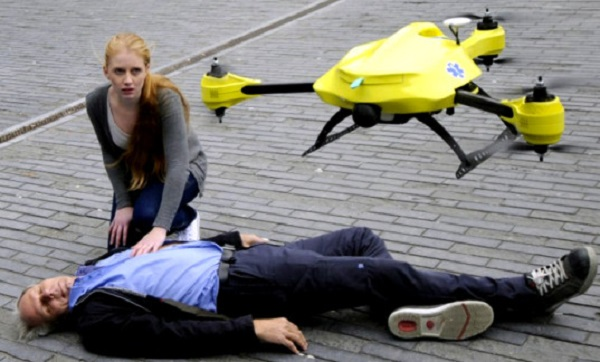 ambulance dron