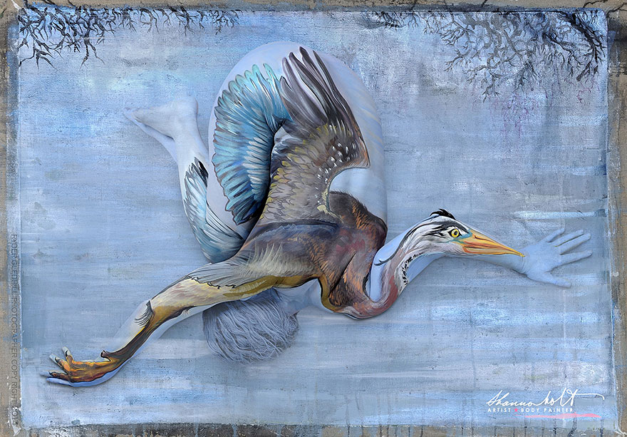 florida-wildlife-series-body-painting-art-shannon-holt-1