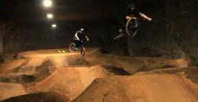 underground dirt bike park