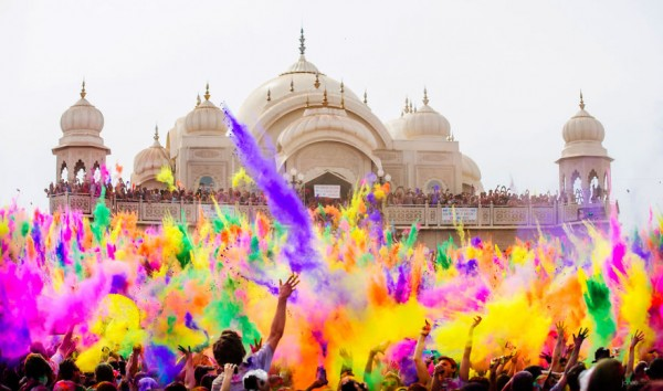 holi color festival