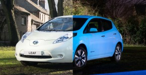 Nissan Invents Glow-In-The-Dark Version Of Car Called Leaf