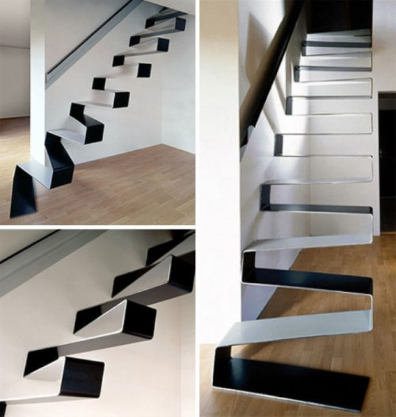 ribbon stairs