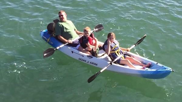 sea lion kayaking 3