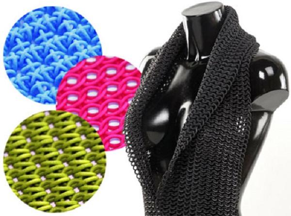 3D printed fabric
