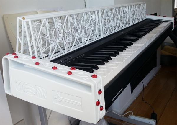 3d printed piano