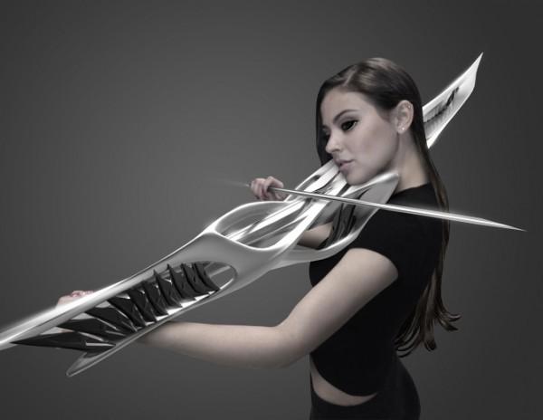 futuristic violin 1