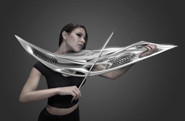 futuristic violin 2