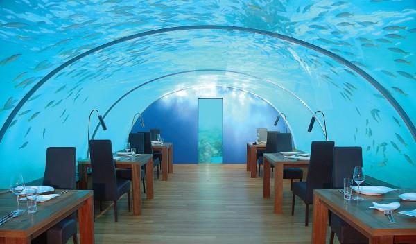 ithaa underwater restauran