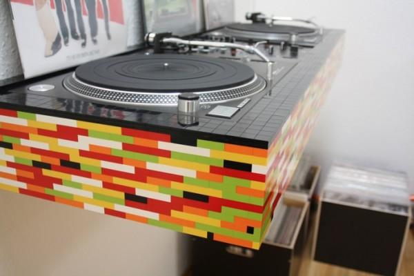 lego dj table