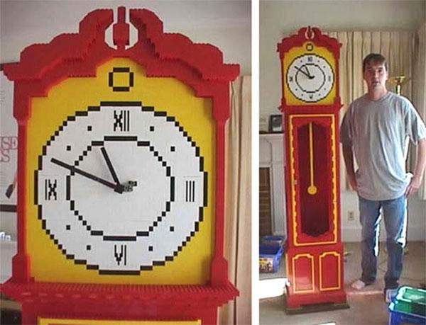 lego grandfather clock