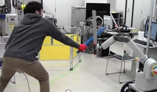 sword robot