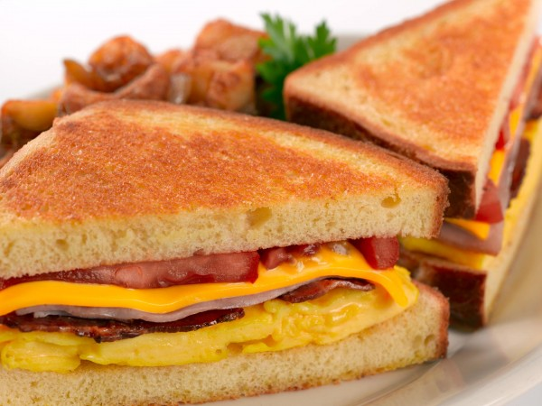 american breakfast sandwich
