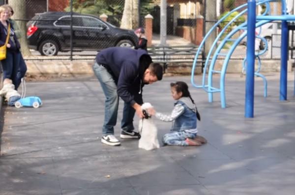 child abduction experiment 1