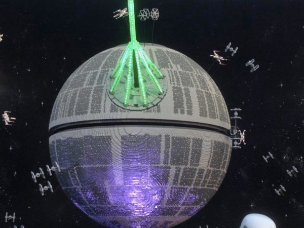 death star lego model 1