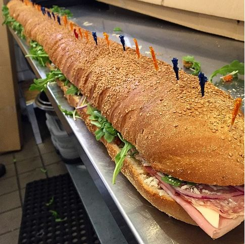 six footer sandwich