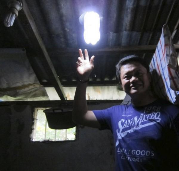 solar bottle bulb