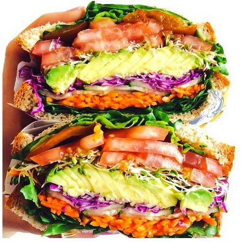super vegan sandwich