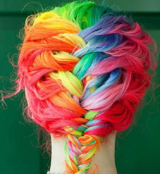 brightening hair colour