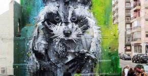recycled street art 2