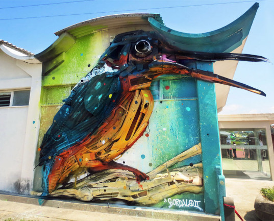 recycled street art 4