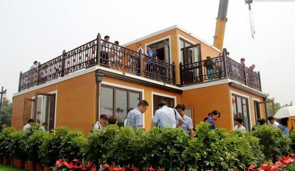 china 3D-printed villa 1