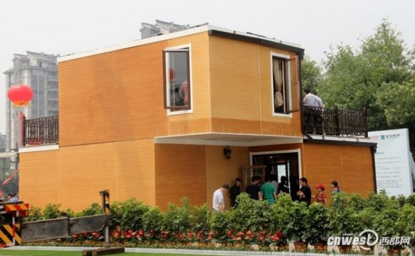china 3D-printed villa 3