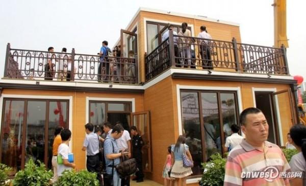 china 3D-printed villa 4
