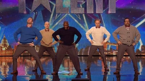 old men dancing