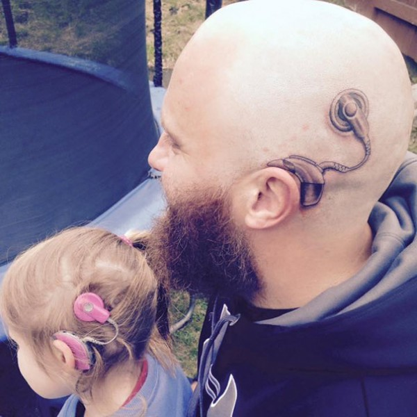 cochlear implant tattoo 1