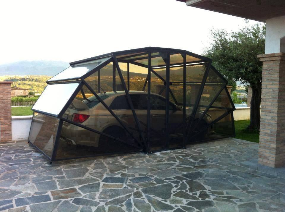 Create A Garage For Your Car In Your Driveway With This