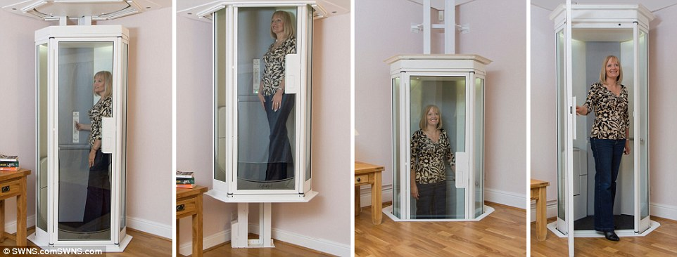 Get this cool home elevator installed in your house with for Elevator house