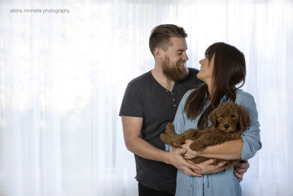 newborn photoshoot dog 7