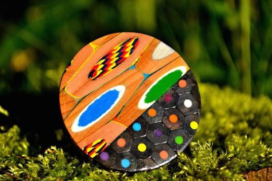 coloured pencil jewellery 1