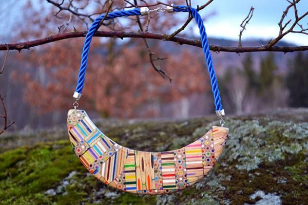 coloured pencil jewellery 2