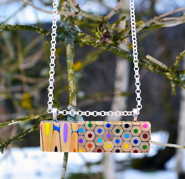 coloured pencil jewellery 4