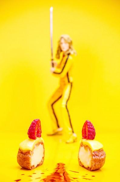 Lemon cream puffs in Kill Bill